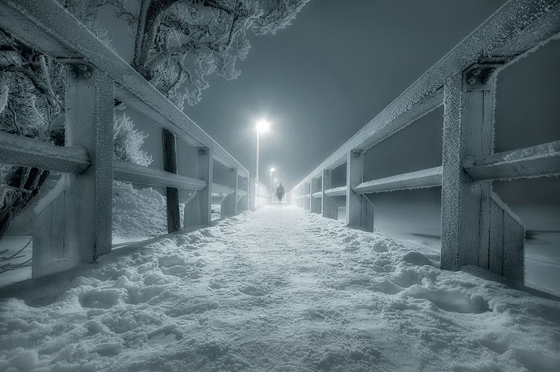 ghostbridge1 Emotional Photography by Mikko Lagerstedt