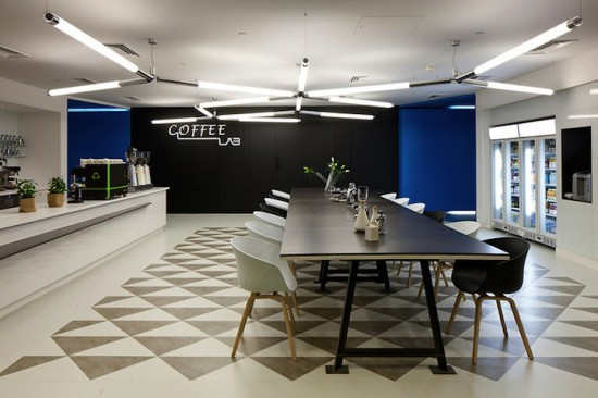 google london office10 550x3661 15 Incredible Office Workspace Designs