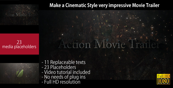 img prev21 20 After Effects Templates Inspired by Action Movies