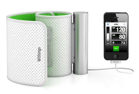 img withings blood pressure monitor iphone ipad1 5 Must Have Gadgets and Accessories for Your iPhone
