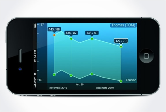 img withings blood pressure monitor iphone ipad 41 5 Must Have Gadgets and Accessories for Your iPhone