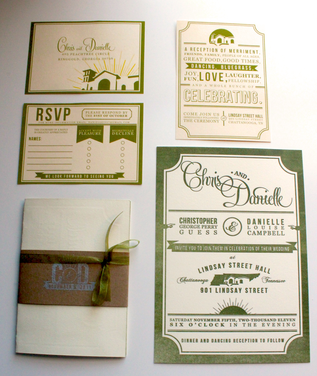 inviation set1 30 Uniquely Designed Wedding Invitations