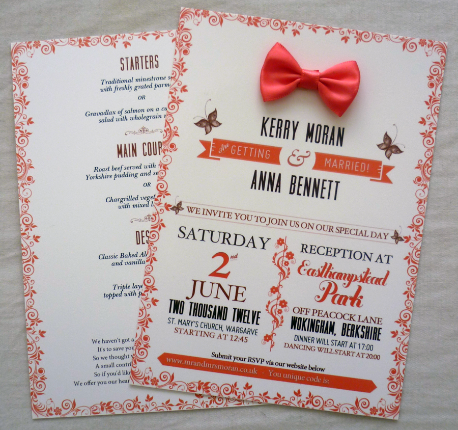 invite dribbble lrg1 30 Uniquely Designed Wedding Invitations