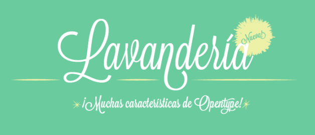 lavanderia banner1 30 Fresh Free Fonts for Your Designs
