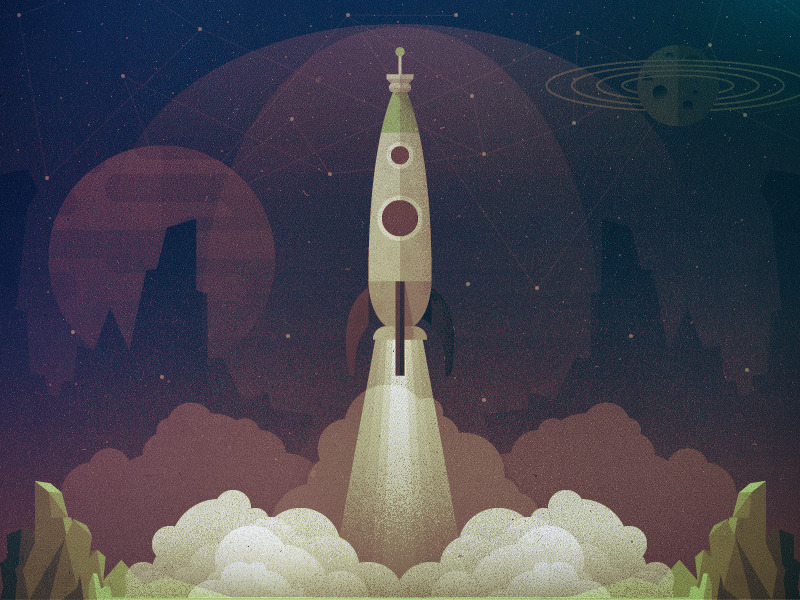liftoff 90011 Epic Illustrations by Justin Mezzell
