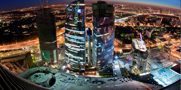 moscow city imperia tower 25+ Death Defying Photographs by Vadim Mahorov