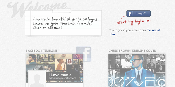 picscatter 10 Free Tools to Create a Facebook Timeline Cover