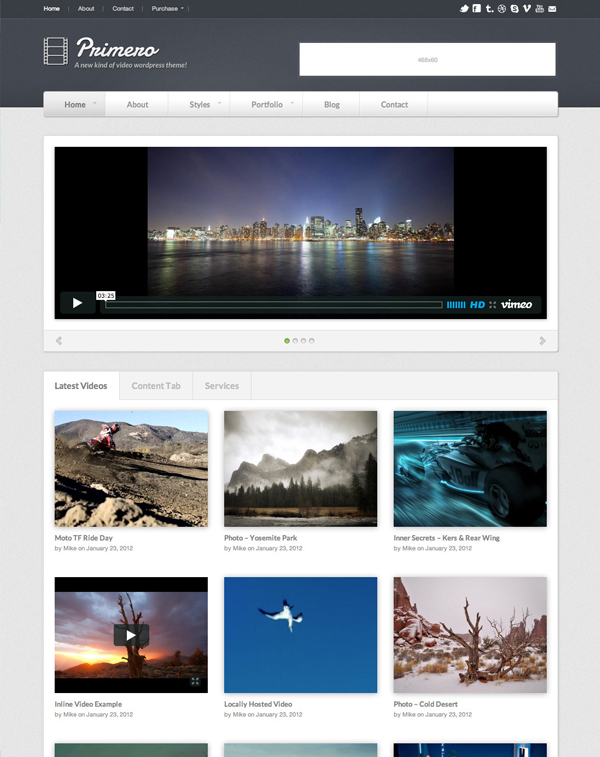primero Top 15 Video Themes For Wordpress