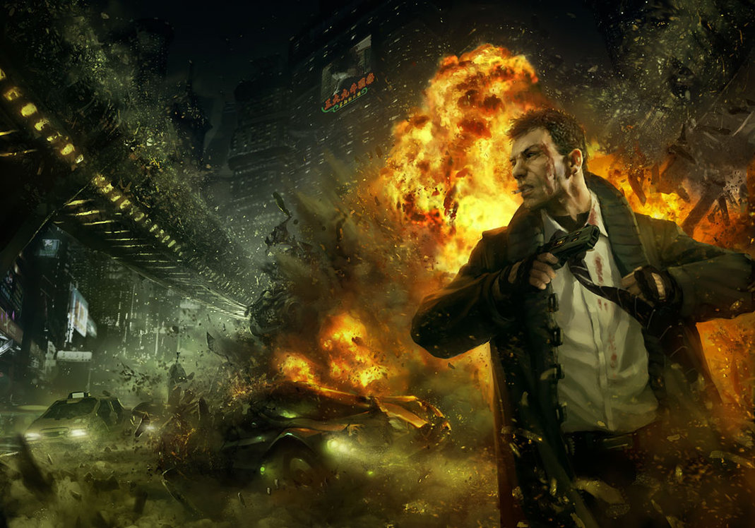 return to neoncity by omen25011 25 Mind Blowing Matte Paintings by Marek Okon