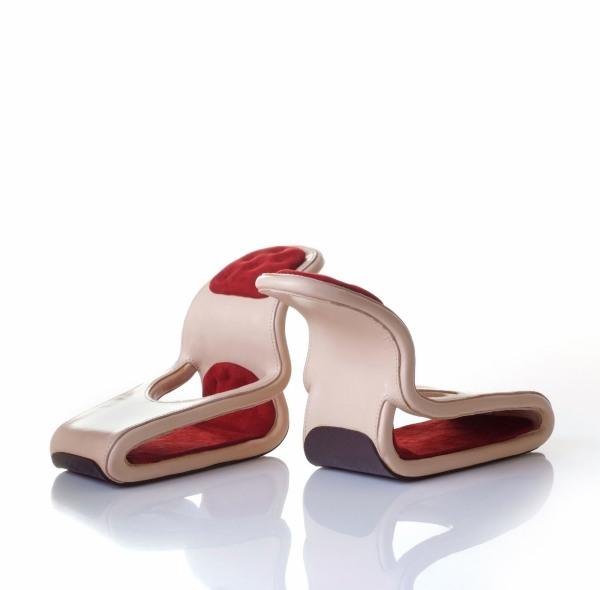 rockingchair21 Artistic Footwear Designs by Kobi Levi