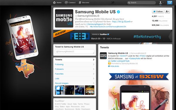 samsung mobile usa Twitter for Business: Inside Guide on Advertising