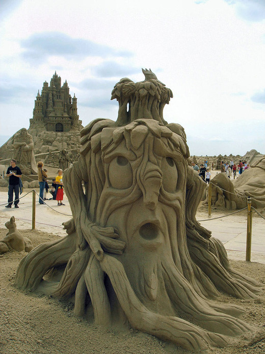 sandsculptures 161 Staggering Sand Sculptures from Around the World