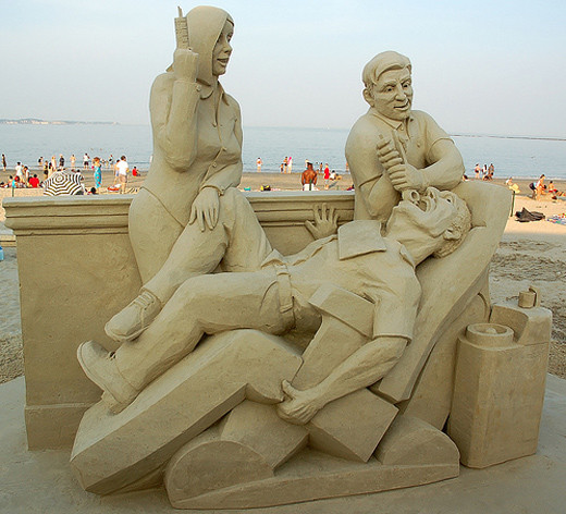 sandsculptures 451 Staggering Sand Sculptures from Around the World