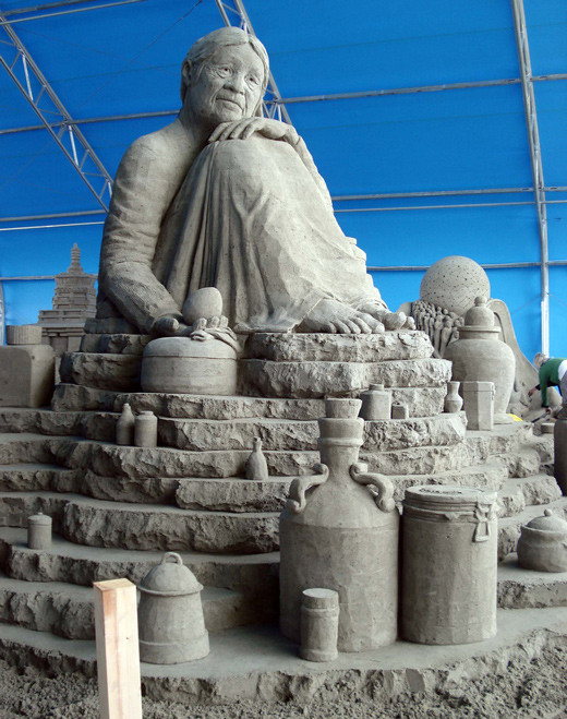 sandsculptures 701 Staggering Sand Sculptures from Around the World