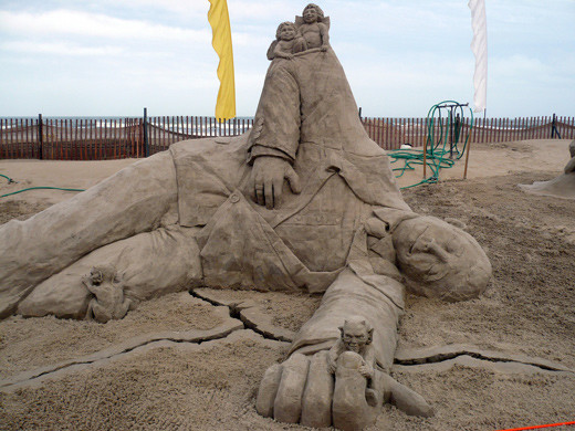 sandsculptures 711 Staggering Sand Sculptures from Around the World