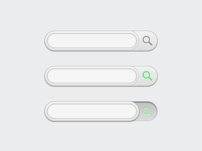 search dribbble1 45 Beautiful & Functional Search Box Designs