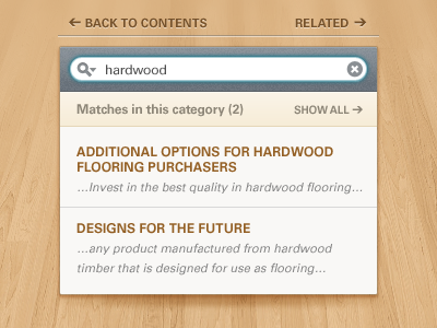 search dropdown1 45 Beautiful & Functional Search Box Designs