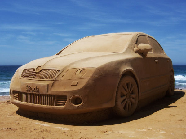 skoda1 Staggering Sand Sculptures from Around the World