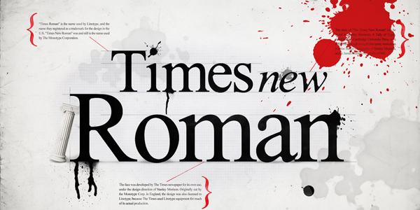 timesnewroman About Face Que seu Font diz sobre você?