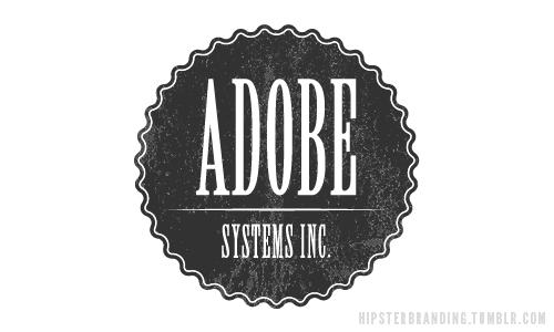 tumblr m0hb07izra1rrn0nmo1 500 Hipster Branding – Famous Logos Redesigned