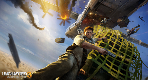 uncharted 3 25 Mind Blowing Matte Paintings by Marek Okon