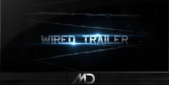 wired1 20 After Effects Templates Inspired by Action Movies