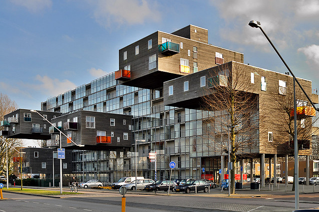 wozoco amsterdam osdorp holland 6 Creative Architectural Building Designs
