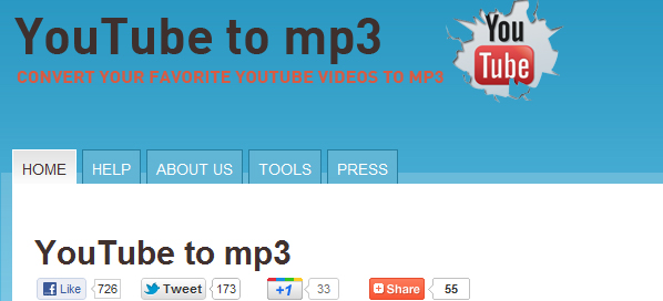 youtubetomp3 5 Websites to Convert YouTube Video to mp3