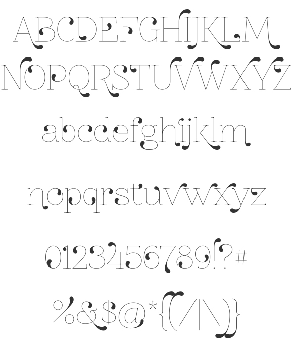 znikomitno24 30 Fresh Free Fonts for Your Designs