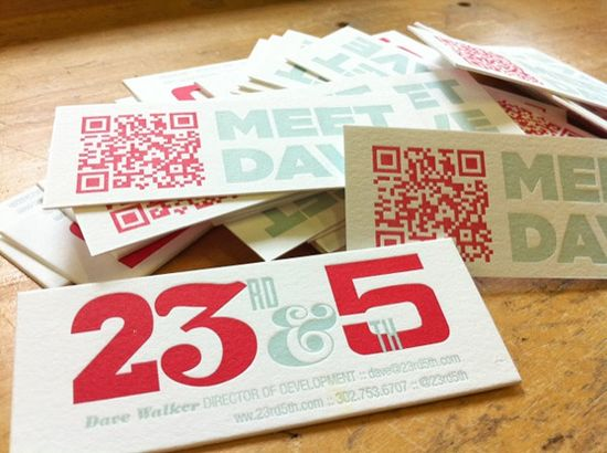 1151 25 Impressive Examples of QR Code Business Cards