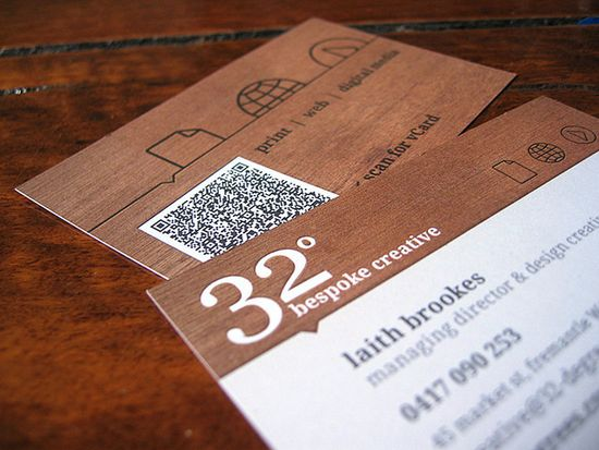1331 25 Impressive Examples of QR Code Business Cards