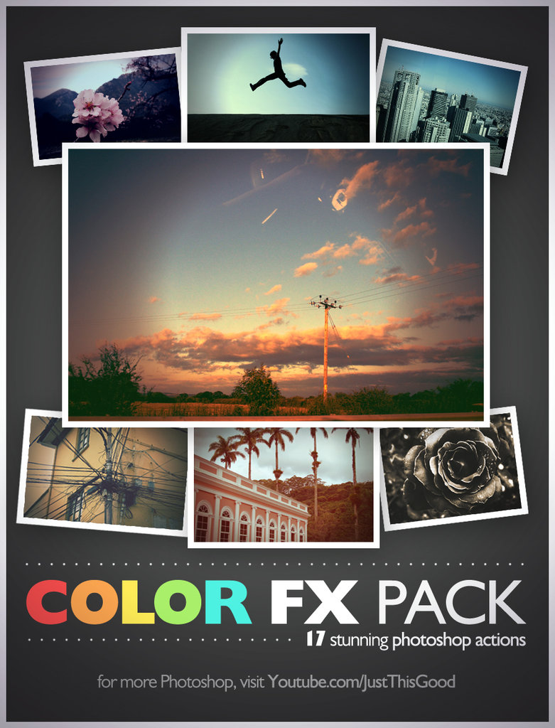17 stunning color fx by justhisgood d4l53cr1 20+ Great Free & Premium Photoshop Actions Packs