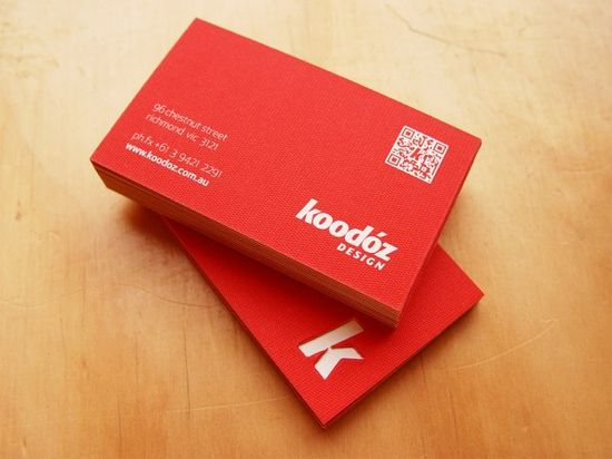 2141 25 Impressive Examples of QR Code Business Cards