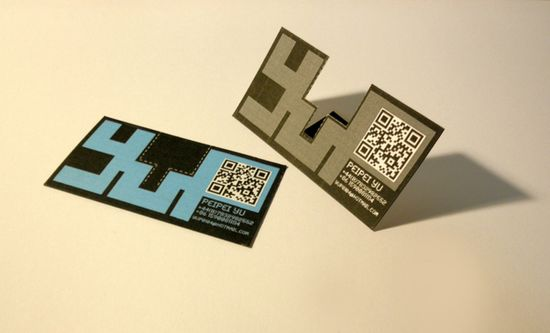 2431 25 Impressive Examples of QR Code Business Cards