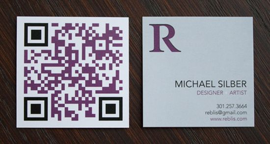 2531 25 Impressive Examples of QR Code Business Cards