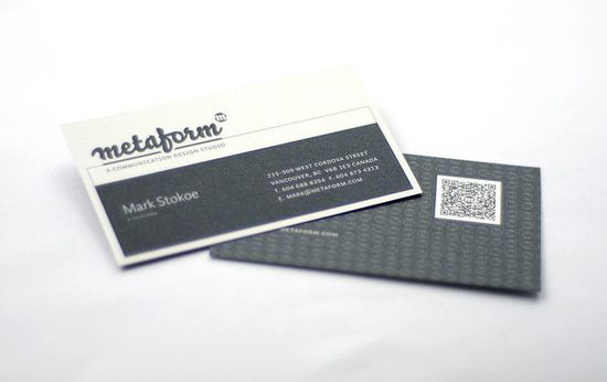 2631 25 Impressive Examples of QR Code Business Cards