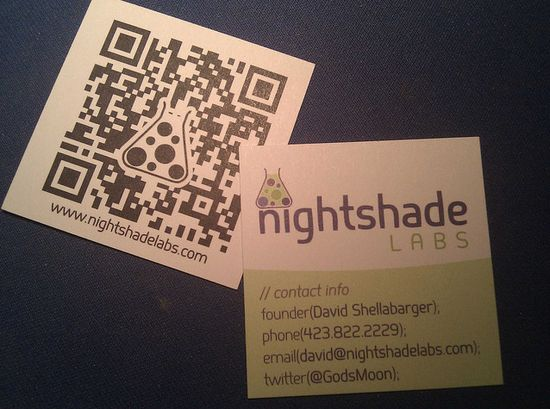 2831 25 Impressive Examples of QR Code Business Cards