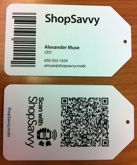 2931 25 Impressive Examples of QR Code Business Cards