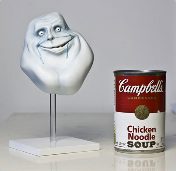 3d rage face campbell soup1 50 Visionary Examples of Creative Photography #9