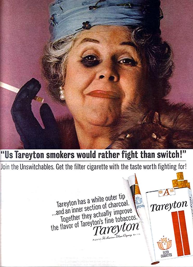 Cigarette Ads 2012 Vintage tobacco ads