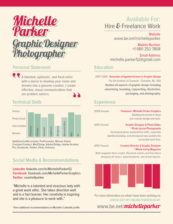 45b28a98c9870a13bc75101d3ac272c21 25 Examples of Creative Graphic Design Resumes