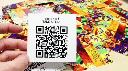 5449325442 2e38cb45cb1 25 Impressive Examples of QR Code Business Cards