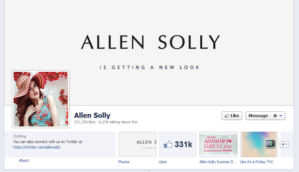 allen solly Why Logo Simplicity is Vivid in the Fashion Industry