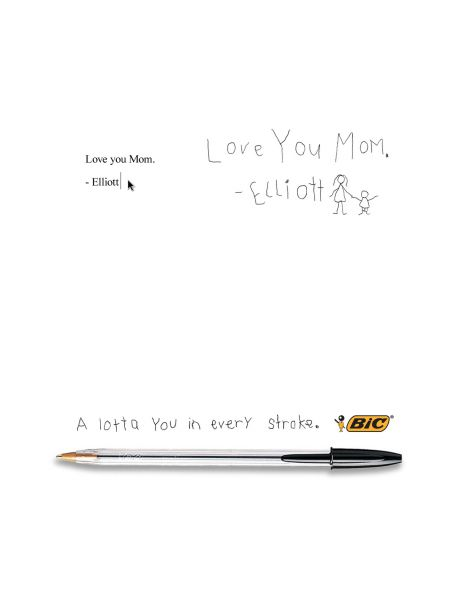 bic love v1a preview1 50 Creative & Effective Advertising Examples