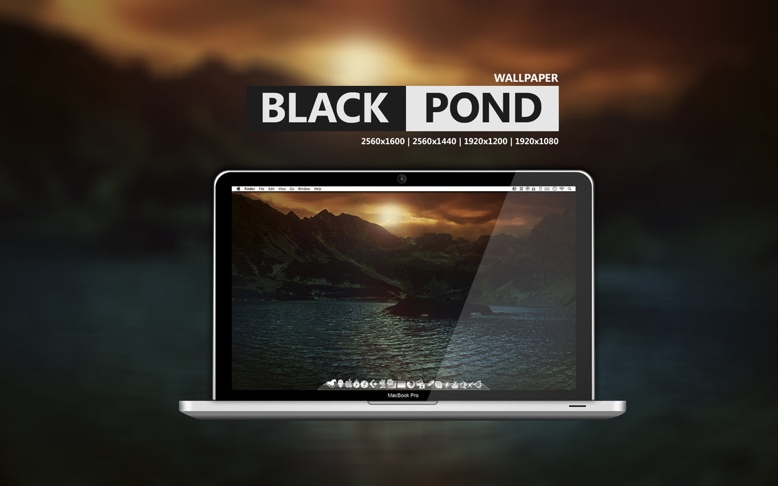 black pond wallpaper by martz90 d4tuxor1 20 Effectual HD Desktop Wallpapers from deviantART