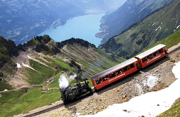 brienzer rothorn mountain switzerland1 25 Outstanding Examples of Machine Photography