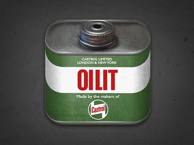 castrol oilit1 50 Most Incredible Examples of Icon Design #2