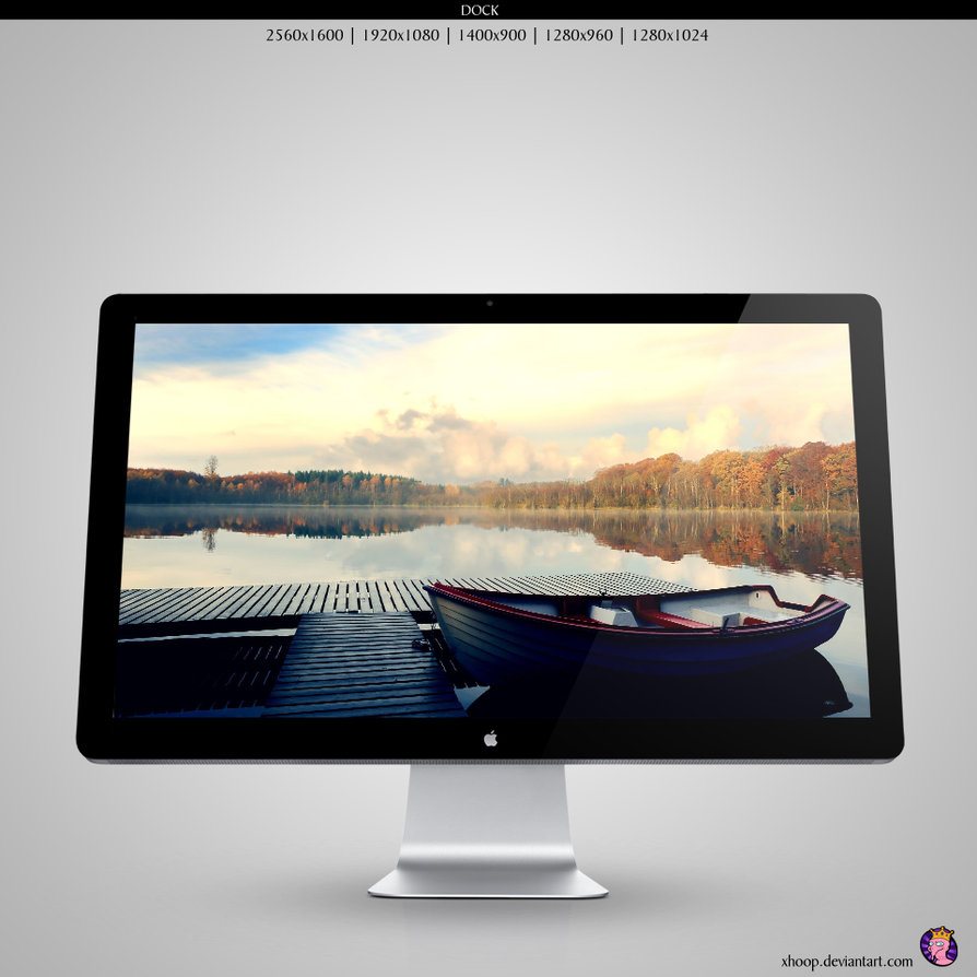 dock wallpaper by xhoop d4dtv301 20 Effectual HD Desktop Wallpapers from deviantART