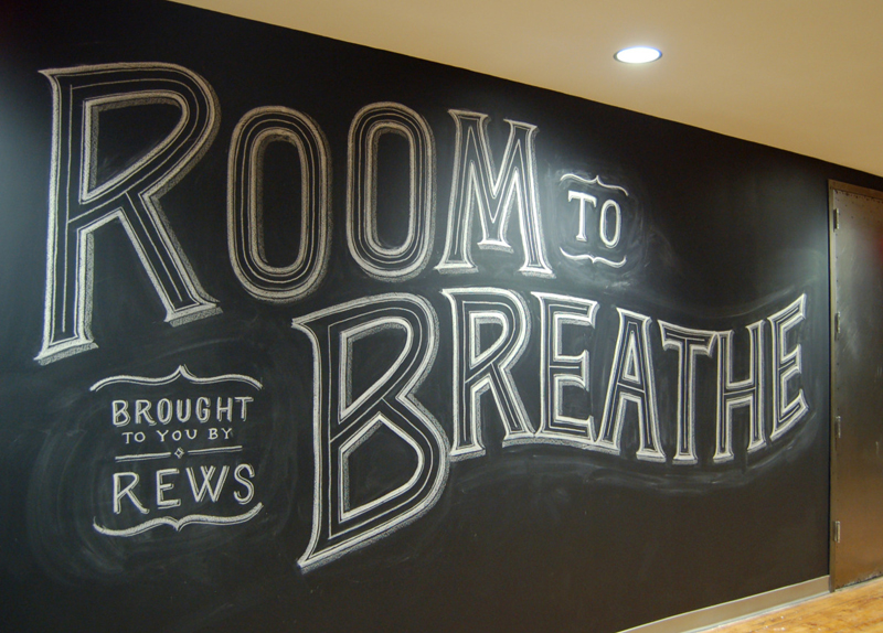 dt 2 Hand Lettered Chalk Typography By Dana Tanamachi