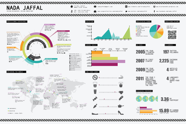Graphic Design Resume Infographic  Infographic Resume Examples